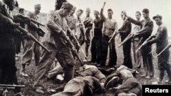 Žrtve ustaških formacija 1945. godine