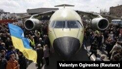 Транспортний літак Ан-178, квітень 2015 року