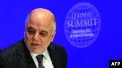Ироқ Бош вазири Ҳайдар ал Абодий.