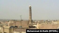 منارة الحدباء التاريخية في الموصل