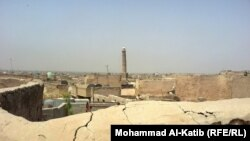 منارة حدباء التاريخية في مدينة الموصل