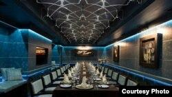 Luxury Restaurant in Tehran, undated