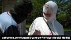 Акція «СТАН проти СТАЛІНА» Луганську, 2010 рік