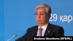 Касым-Жомарт Токаев, заместитель Генерального секретаря ООН, директор отделения ООН в Женеве. Астана, 29 ноября 2012 года.