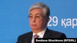 Парламент сенатының спикері Қасымжомарт тоқаев.