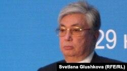 Парламент сенатының спикері Қасым-Жомарт Тоқаев.