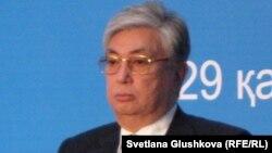 Парламент сенаты төрағасы Қасым-Жомарт Тоқаев.