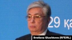 Председатель сената парламента Касым-Жомарт Токаев.