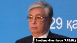 Қазақстан парламенті сенатының спикері Қасым-Жомарт Тоқаев.