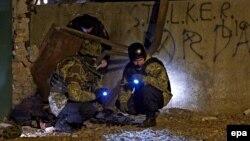 Міліція на місці вибуху у Харкові, 25 листопада 2014 року (архівне фото)