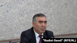 Хайрулло Асозода, министр транспорта Таджикистана.