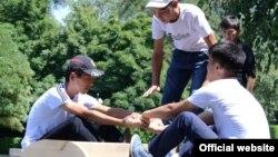Кыргызстанда Таяк тартышуу федерациясы 2013-жылы түзүлгөн. (Сүрөт Мамлекеттик дене-тарбия жана спорт агенттигине таандык)