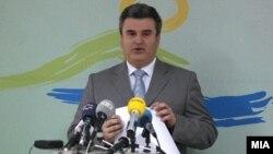 Macedonia - Minister of Agriculture Aco Spasenoski, Skopje, 20Feb2009
