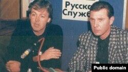 Пол Маккартни и Сэм Джонс, 1989 год