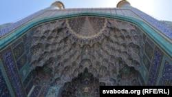 «Сталяктытавыя» карнізы, Ісфаган