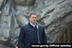 Старшыня Беларускай фэдэрацыі футболу Ўладзімер Базанаў