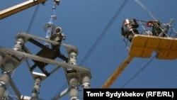 Электролинии Кыргызстана. Иллюстративное фото.
