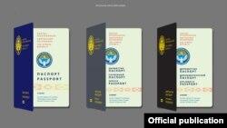 Жаңы үлгүдөгү паспорттун 50 барактуусу 920 сом, 34 барактуусу 857 сом болору айтылды.