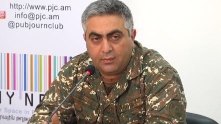 Арцрун Ованнисян на пресс-конференции, Ереван, 3 мая 2016 г․