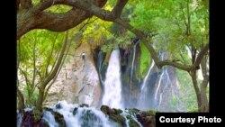 آبشار آتشگاه در لردگان بختیاری