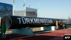 "Line ""D"" of the Turkmenistan-China gas pipeline network was meant to have been the largest single gas conduit connecting Turkmenistan to any consumer state. (file photo)"