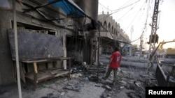Bagdad posle jednog od bombaških napada