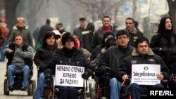 Protest u Banjaluci, Foto: Maja Bjelajac
