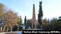 Обелиск погибшим воинам Армянской 89-й дивизии