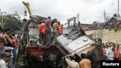 Na mestu nesreće, Indija 19. jul 2007.