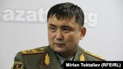 Бывший министр обороны Кыргызстана Таалайбек Омуралиев.