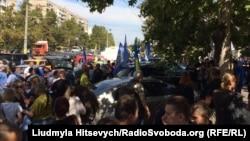 Акція «Автомайдану» в Одесі з вимогою звільнити активістів, 11 вересня 2015 року