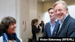 Profesorii Mihaela Martin și Frans Helmerson la Academia Kronberg în Germania