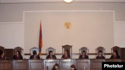Armenia - The Constitutional Court discusses the Armenian - Turkish protocols, Yerevan,12Jan,2010