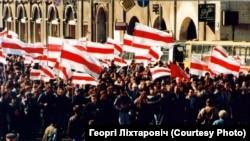 Самая известная оппозиционная партия Белоруссии на грани раскола