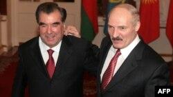 Два былыя дырэктары саўгасу, два прэзыдэнты Рахмон і Лукашэнка