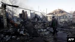 Руйнування внаслідок вибухів в Сватові, 30 жовтня 2015 року