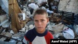 کودکی در اردوگاه قاح