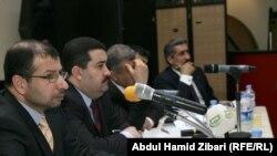 مراقبون لحقوق الإنسان في العراق في مؤتمر سابق