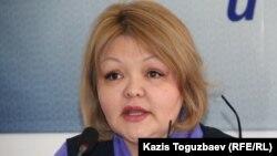 Айман Умарова, адвокат. Алматы, 26 января 2016 года.