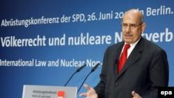 مدیر کل آژانس بین المللی انرژی اتمی می گوید هنوز کشورهایی بسیاری به بمب اتمی به عنوان تضمینی برای امنیت خود می نگرند