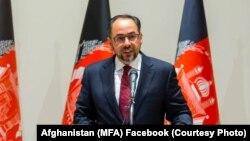 آرشیف، صلاح الدین ربانی وزیر خارجه افغانستان