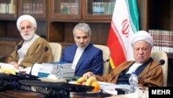 آخرین حضور هاشمی رفسنجانی در جلسه کمیسیون نظارت مجمع تشخیص مصلحت نظام