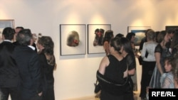 An auction of contemporary Iranian art at the Magic of Persia art gallery in Dubai last year.