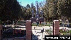Памятник воинам Второй мировой войны в Крыму. Иллюстрационное фото