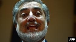 Kандидатот за претседател на Авганистан Абдула Абдула.
