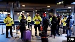 Bezbednosna kontrola na aerodromu u Kopenhagenu