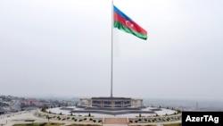 Naxçıvanda Bayraq meydanı