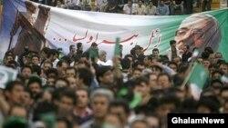 تجمع انتخاباتی حامیان موسوی در تبریز