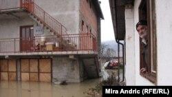 Поплава во БиХ, Долна Сопотница