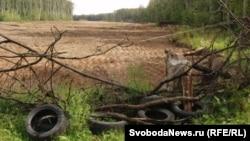 На этом месте планируется построить трассу из Москвы в Санкт-Петербург